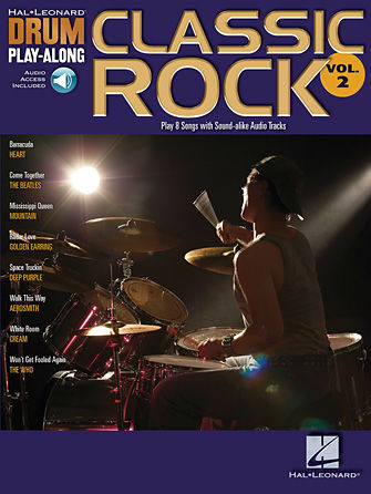 Classic Rock - Drum Play-Along Series Volume 2