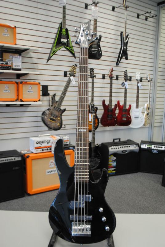 ESP LTD B-55 Electric Bass Guitar - Black