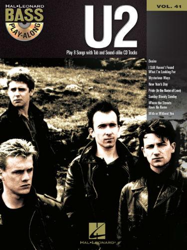 U2 - Bass Play-Along Volume 41 Book and CD