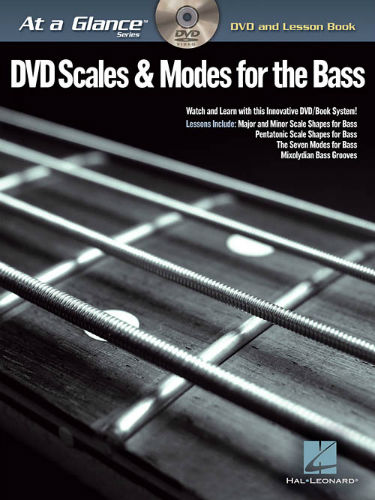 Scales & Modes for Bass Book and DVD