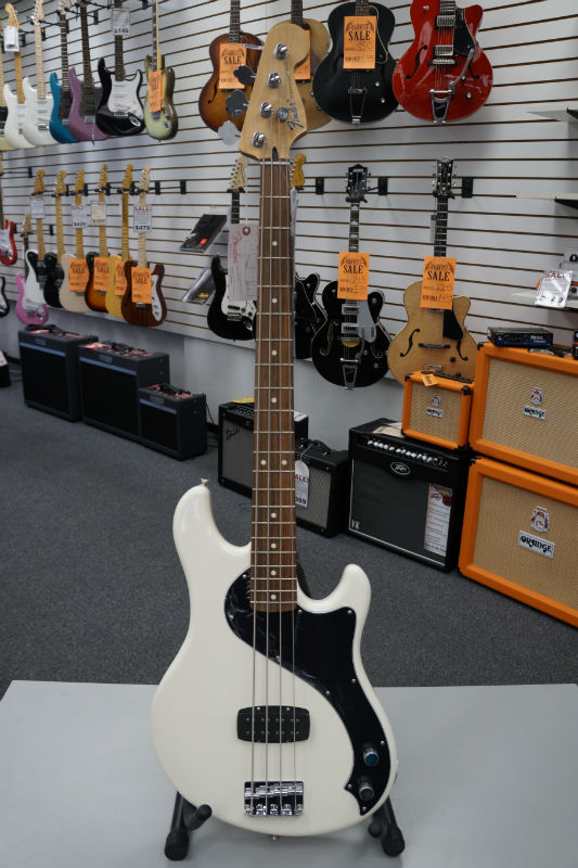 Fender® Standard Dimension® Electric Bass IV - Olympic White