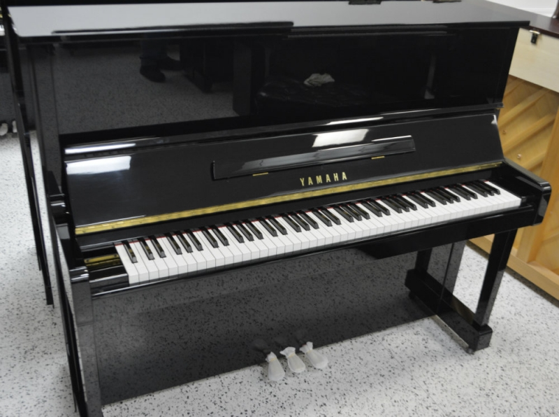 Yamaha Professional Upright Piano Ebony Polish (used)