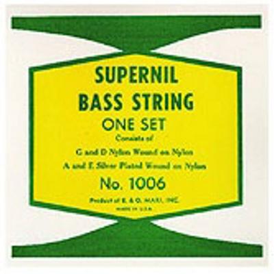 La Bella 1006 Supernil Nylon Wound Double Bass Strings