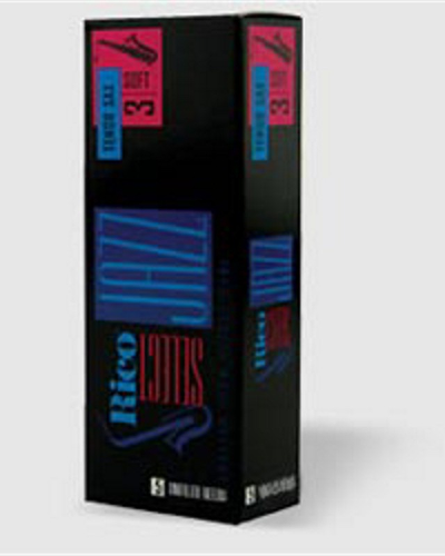 Rico Select Jazz Unfiled Tenor Saxophone Reeds (Various Strengths)(Box of 5)