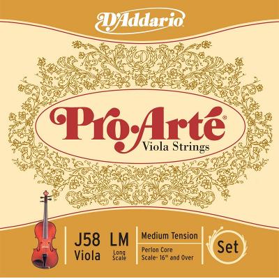 D'Addario Pro Arte Viola String Set (16