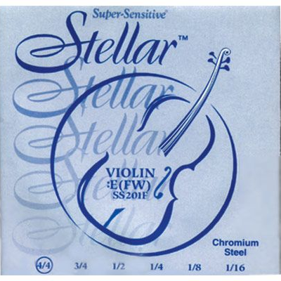 Stellar Violin Strings by Supersensitive
