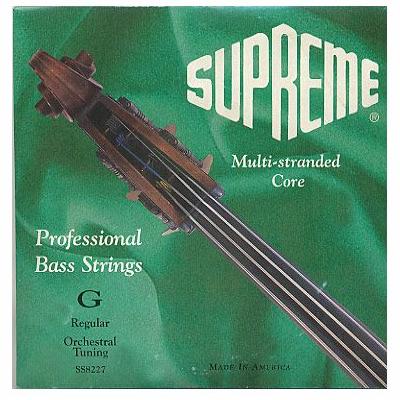Supreme Solo Tuned Bass Strings by Super Sensitive