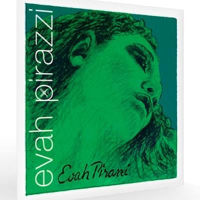 Pirastro Evah Pirazzi Violin String Set with Steel Loop E-String, 4/4