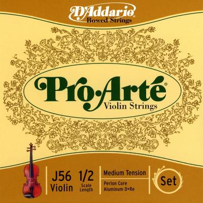 D Addario Pro Arte 1/2 Violin String Set