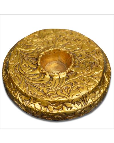 Vienna Strings Gold Round Cello Rockstop - Small Leaf Design