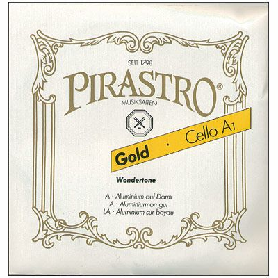 Pirastro Gold Cello Strings ( C )
