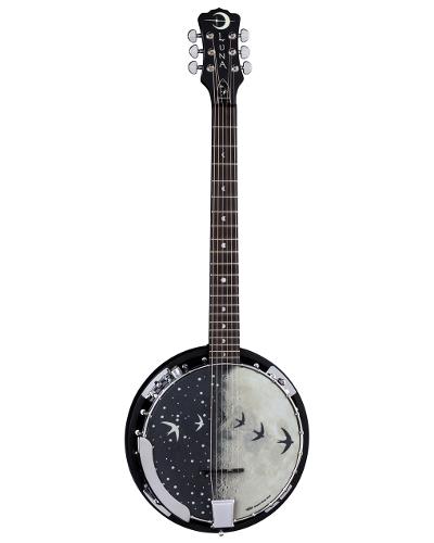 Luna Banjo Moonbird 6 String Acoustic Electric - BGB MOON 6E