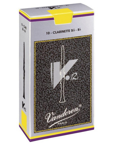 Vandoren V12 Series Bb Clarinet Reeds (Box of 10)
