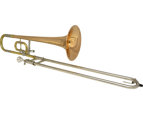 Schiller American Heritage Pro Tenor Bb/C Trombone with Rose Brass Bell