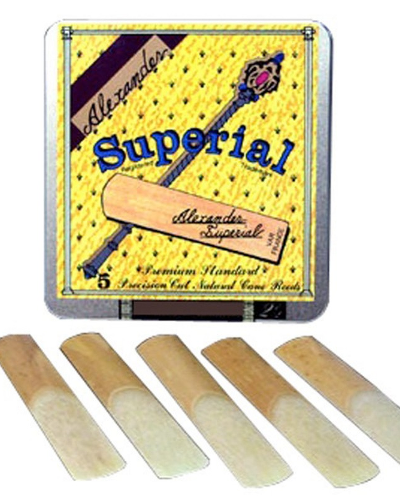 Alexander Superial Clarinet Reeds (Assorted Strenghts)