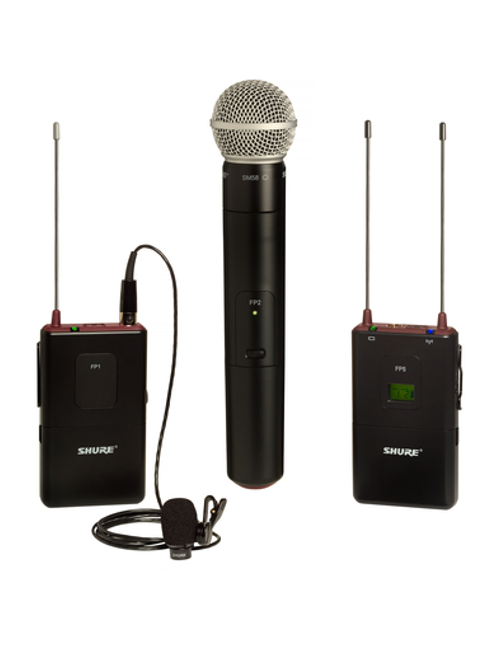 Shure FP125/83SM58 Combo Wireless System