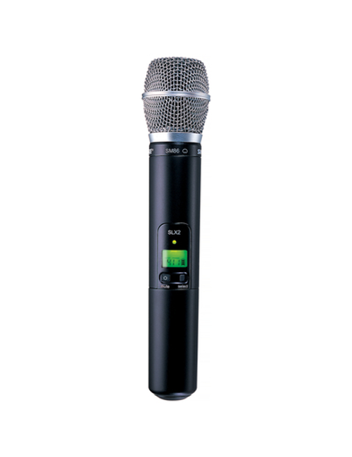 Shure SLX2/SM86 Handheld Wireless Microphone Transmitter