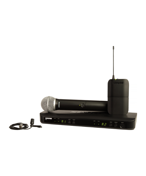 Shure BLX1288/CVL Dual Channel Combo Wireless System