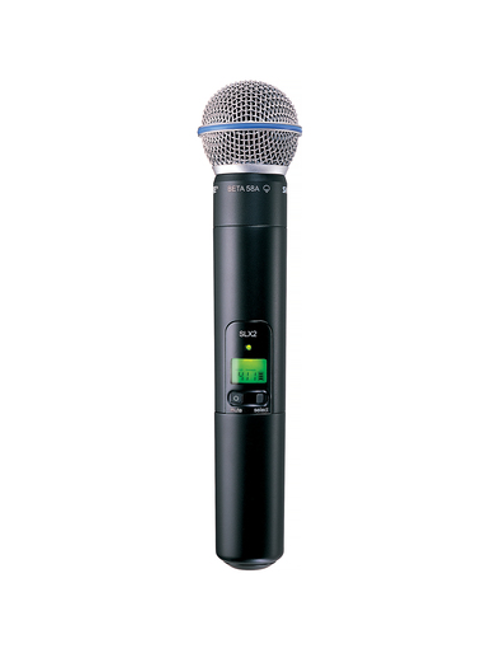Shure SLX2/BETA58 Handheld Wireless Microphone Transmitter