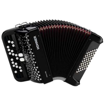 Hohner Nova II 48 Black, B-stepped