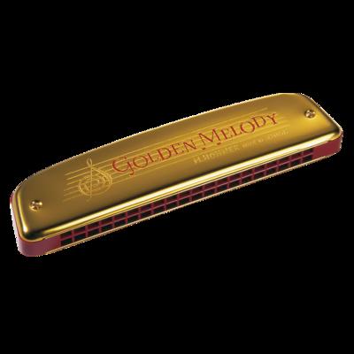 Hohner Tremolo Diatonic Golden Melody Harmonica