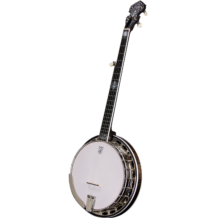 Deering John Hartford 5-String Banjo w/ Pop-On Resonator