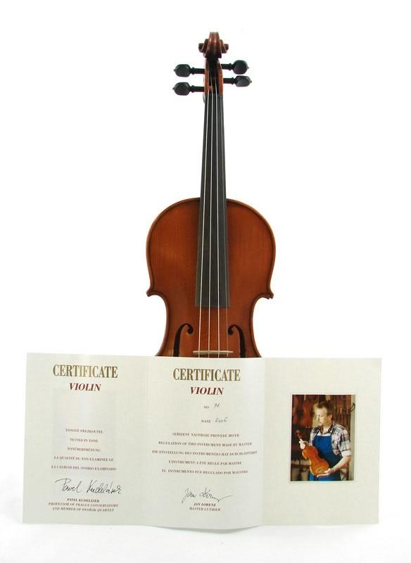 Akord Kvint Violin Jan Lorenz Nr71