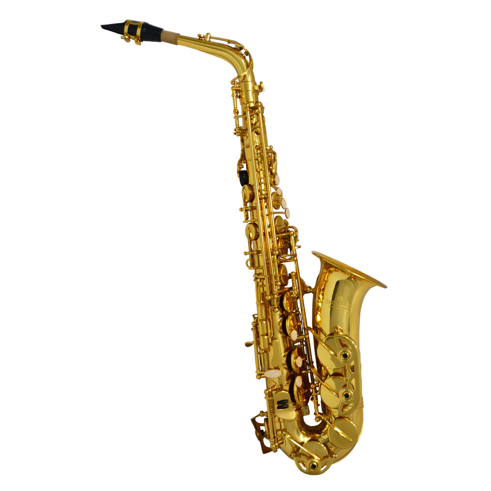 Schiller American Heritage 400 Alto Saxophone - Gold Lacquer