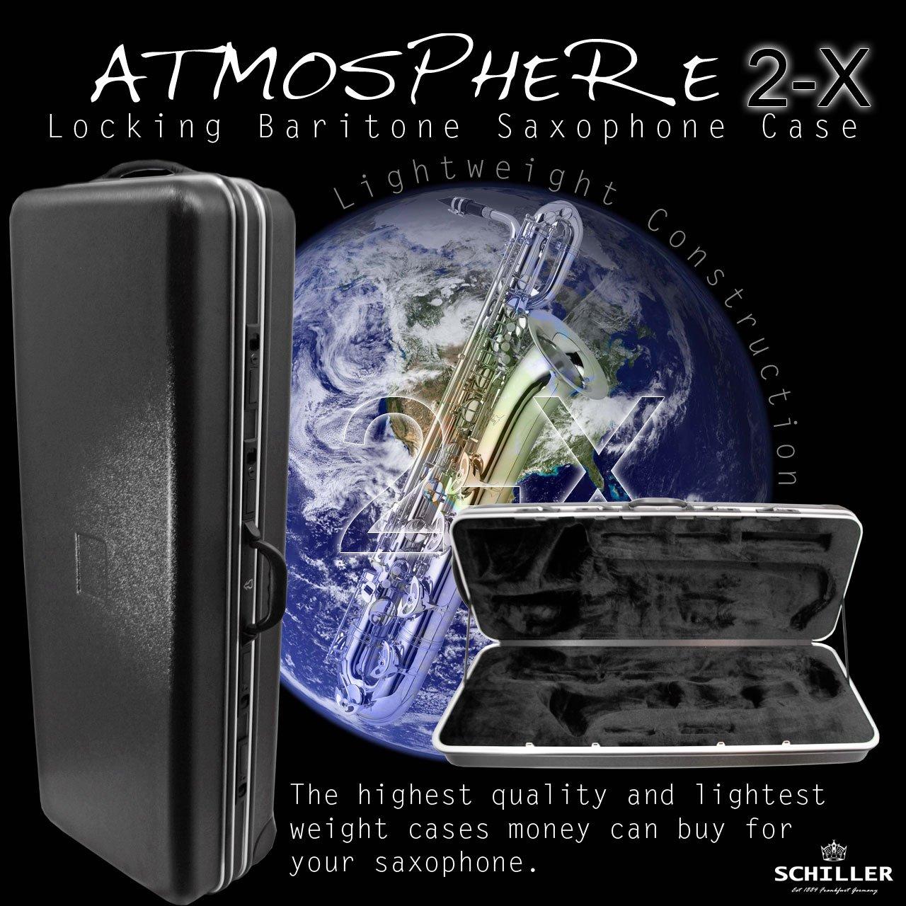 Schiller Atmosphere 2-X Baritone Saxophone Case