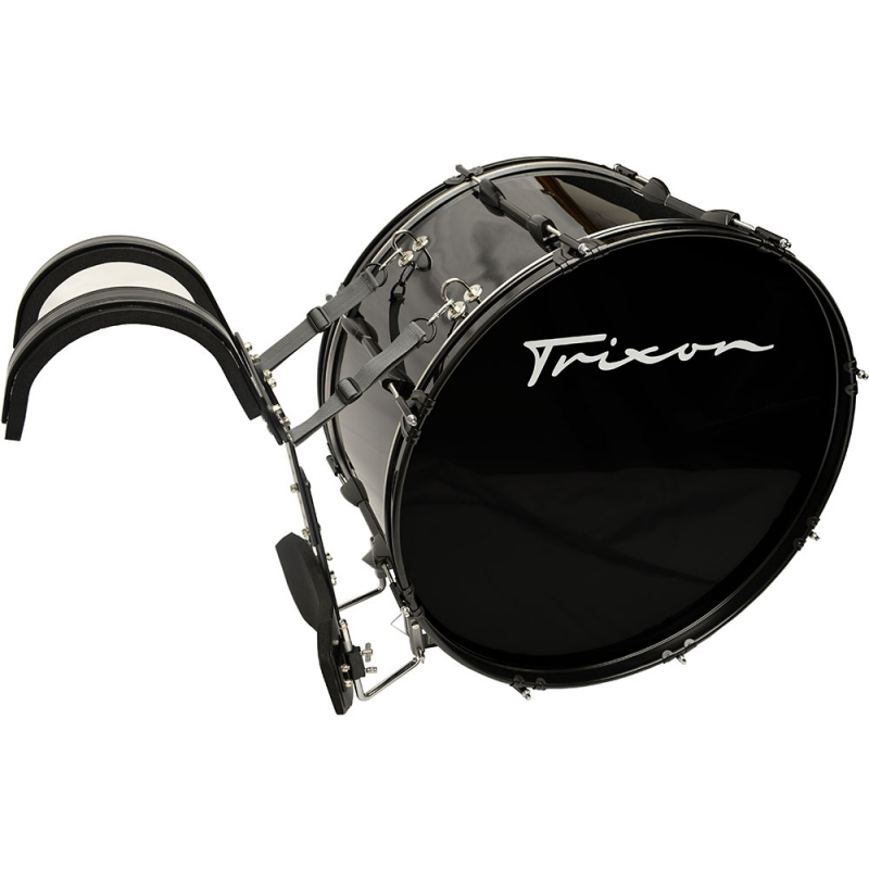 Trixon Marching Bass Drum 18x12 Black