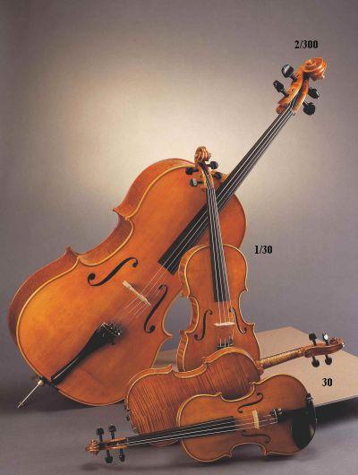 Akord Kvint Jan Lorenz Nr 2/300 Stradivari Cello 4/4