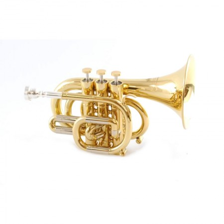 Schiller CenterTone Pocket Trumpet – C
