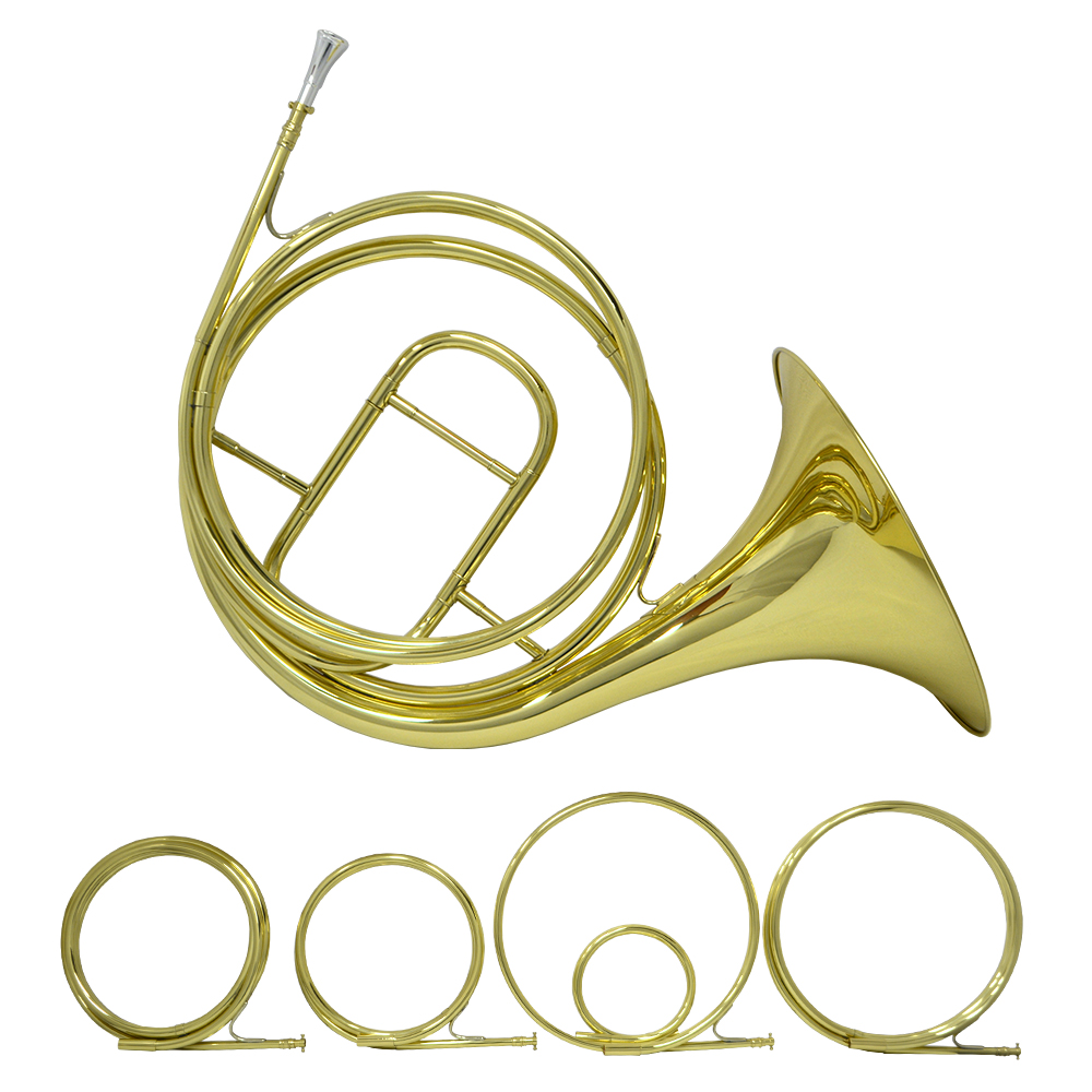 Schiller Natural French Horn - Gold Lacquer