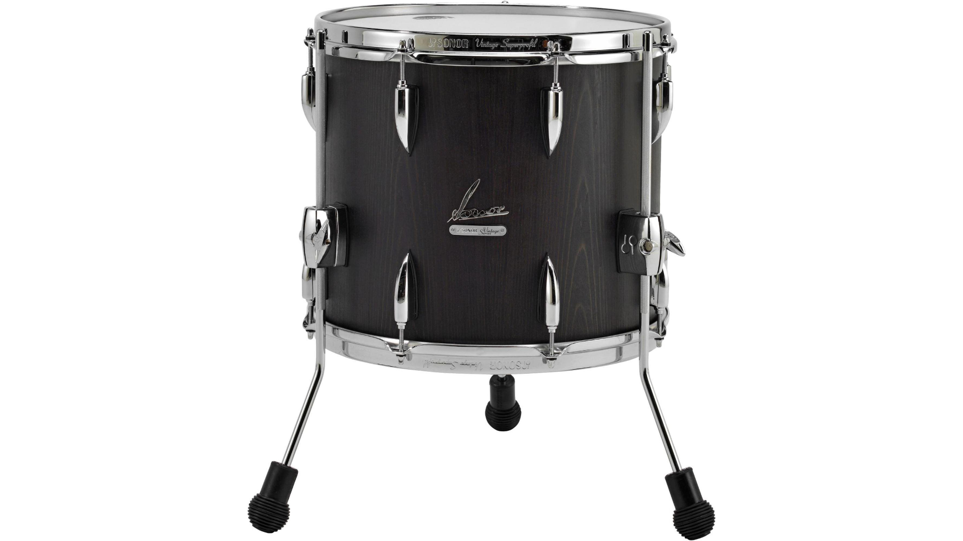 Sonor vintage series floor tom 16 x 14 in vintage onyx for 16x14 floor tom
