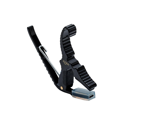Kyser® KG3B Black Finish Short-Cut 3-String Acoustic Quick-Change® Capo