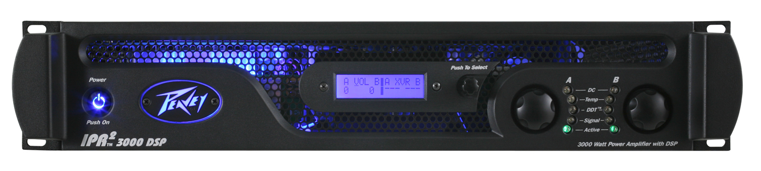 Peavey IPR2 3000 DSP power amplifier