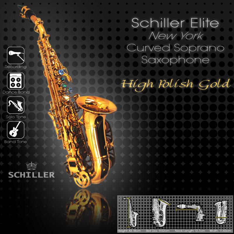 Schiller Elite IV New York Edition Saxophone