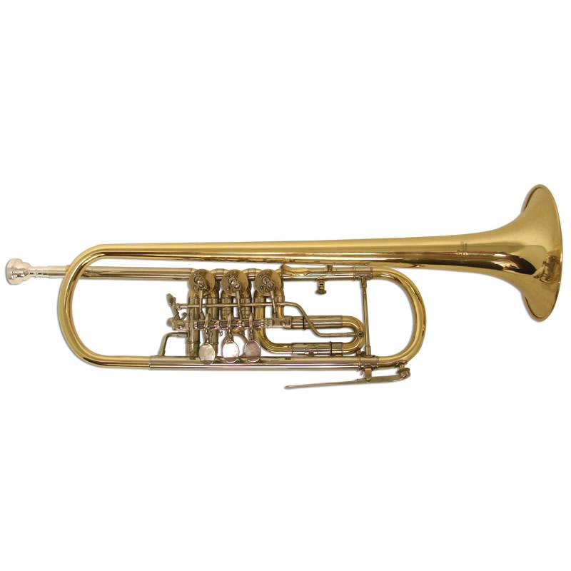 Schiller Elite Rotary Valve Trumpet