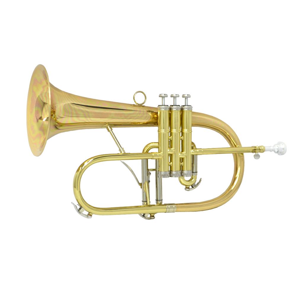 Schiller Studio Artist Flugelhorn - Rose Brass
