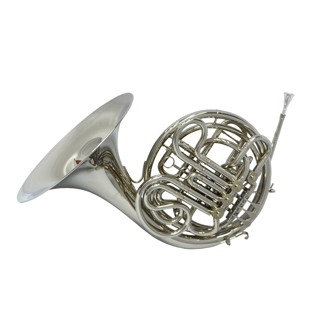 Schiller American Elite VI French Horn - Nickel Plated