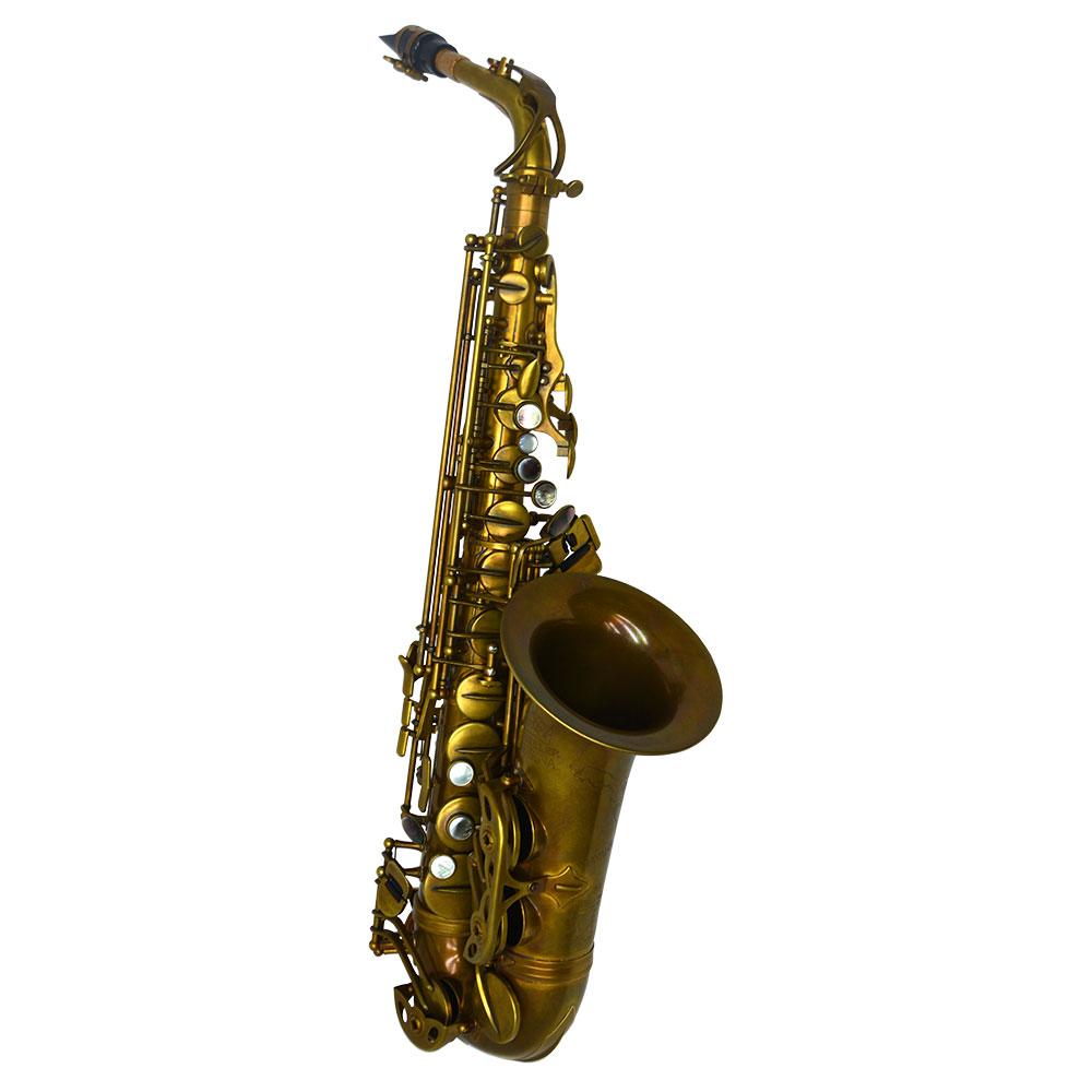 Schiller Havana Alto Saxophone - Light Unlacquered Duralast Finish
