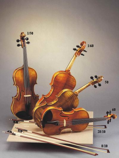 Akord Kvint Josef Holpuch Nr 1/50 Guarneri Viola