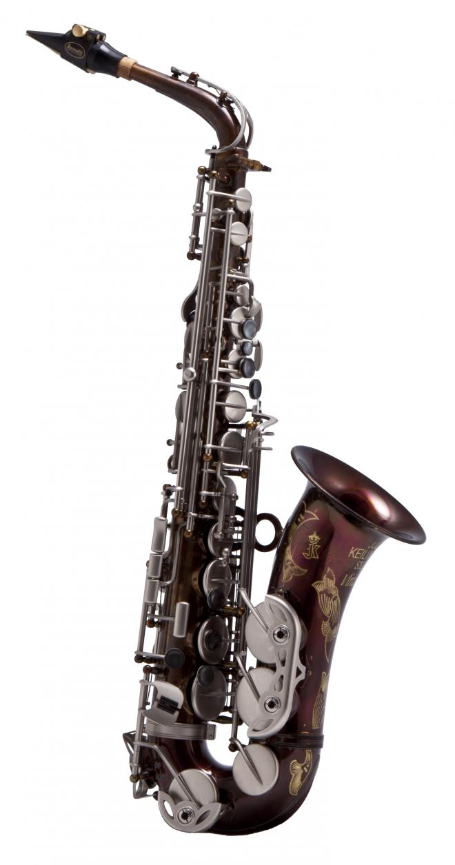 Keilwerth Model JK2400-8V Alto Sax - Vintage Finish