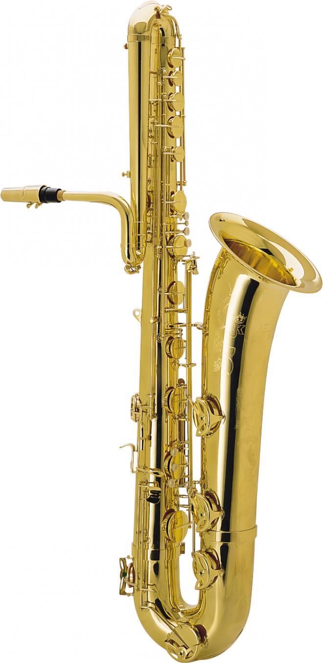 Keilwerth Model JK5300-8 Bass Sax - Gold Lacquer