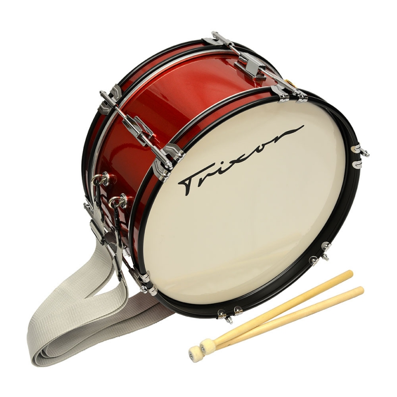 Trixon Junior Marching Bass Drum - Red