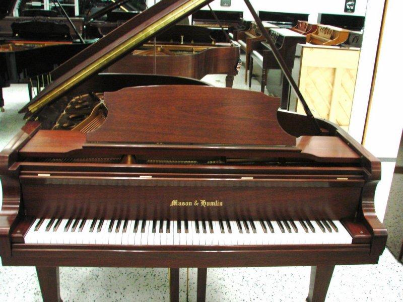 Mason & Hamlin AA Grand Piano - Mahogany Satin