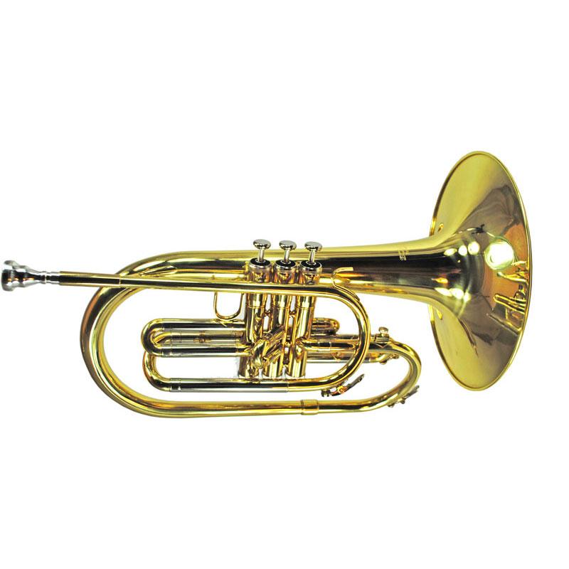 Schiller Mellophone Gold Lacquer