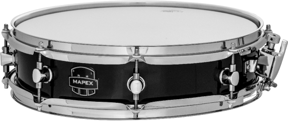Mapex Piccolo Poplar Snare Drum - MPBW4350CDK - Black Cover Finish