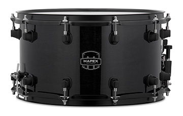 Mapex MPX Maple Snare Drum - MPML4800BMB - Transparent Midnight Black