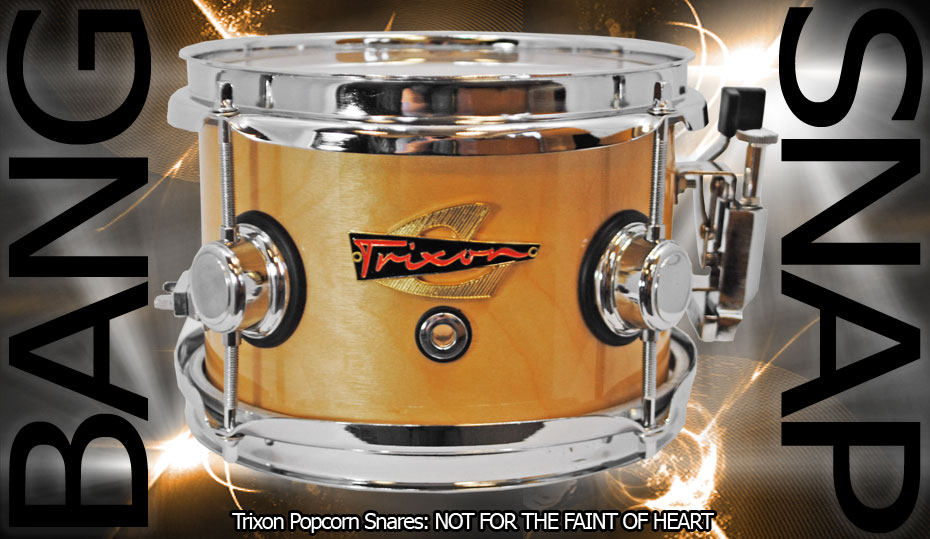 Trixon Elite Popcorn Snare Drum - Natural